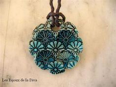 Collier 10 ; Pendentif Horu Turquoise contrast 20,00 euros