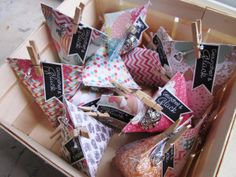 stampin up-mini sour cream box-tetraeder verpackung-fahnengruß-goodies anleitung tutorial