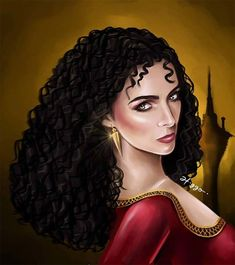 Mother Gothel Illustrator draws Brazilian actresses as Disney villains Disney Princess Pictures, Disney Princess Art, Disney Pictures, Disney Villains, Disney Movies, Disney Pixar, Disney Fan Art, Rapunzel Flynn, Modern Disney Characters