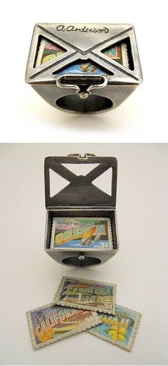 Amazing letter ring