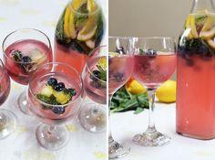 Summer Cocktail Alert! Blueberry Lemon Ginger Fizz
