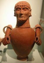 Etruscan urn from Chiusi. Rijksmuseum van oudheden, Leiden