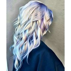Oil slick hair ❤ liked on Polyvore featuring beauty products, haircare, hair and makeup