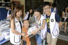 Omega Leo Club of Southern Cross raised RM17,104 for six orphanages