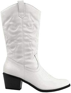 Women Plus Wide Calf Boots,Tsmile Retro Lace Up Zip Up PU Leather Round Toe Low Heel Riding Comfortable Booties