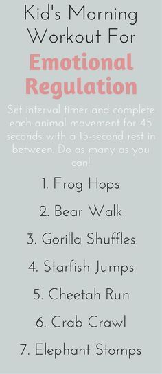 Hyper, wound-up kids? Get out the giggles with this family workout for emotional regulation.
