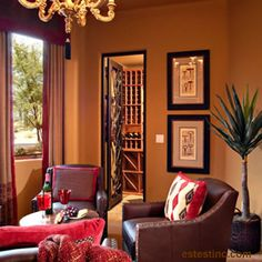 arizona style decorating | ... Interior Model Home Designs | Interior Design Scottsdale Arizona