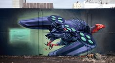 New Gorgeous Murals by Wes 21-4