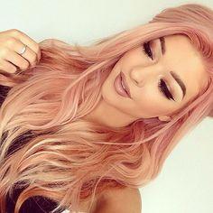 Stunning peachy hair shades for this autumn! Photo gallery & Video tutorials! | The HairCut Web!