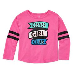 FREE SHIPPING AVAILABLE! Buy Okie Dokie Graphic T-Shirt-Toddler Girls at JCPenney.com today and enjoy great savings.