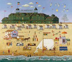 Charles Wysocki - The Nantucket