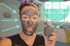 DIY ✹ Glam Glow ✹ Detoxifying Facial Mask