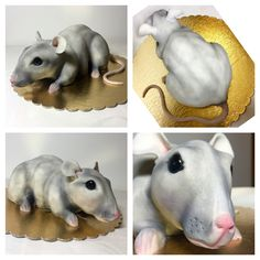 mouse cake 3D