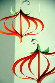 Paper Pumpkin Fall Craft - Great Harvest Craft for Kids #Halloween #homedecor (External source)