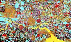 생명의 내부를 촬영한 아름다운 과학 사진들(초파리애벌래의 신경시스템)