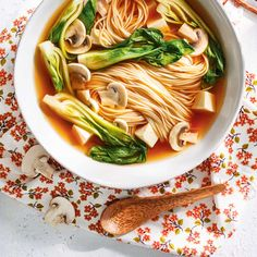 Five recipes that will bowl you away from Ricardo (English), Winter Read it on the Texture app-unlimited access to top magazines. Tofu Ramen, Ramen Soup, Healthy Eating Recipes, Vegetarian Recipes, Healthy Food, Amazing Food Photography, Ricardo Recipe, Asian Recipes, Ethnic Recipes