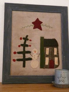 Winter Country Stitches