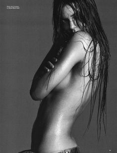 Kendall Jenner by David Sims, stylist Katie Grand, make-up artist Diane Kendal, hair stylist Guido Palau, for Love Magazine 12