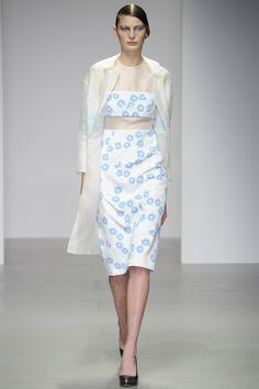 Holly Fulton - London Fashion Week - Aisle Style Inspiration Autumn/Winter 2014-15
