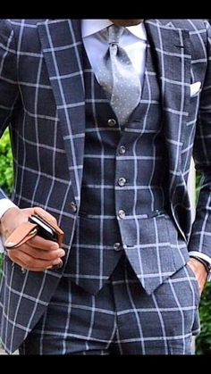 Coupe / Gilet / Style / Cravate / Motifs - pois & carreaux / Couleurs / Revers