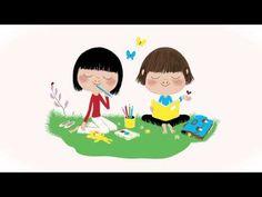 ▶ Une méditation guidée pour les enfants - Un cœur tranquille et sage - YouTube