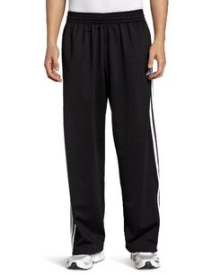 adidas Men's 3-Stripe Pant, Black/White, Large *** You can get additional details at the image link.