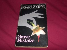 Grave Mistake by Ngaio Marsh (1980 ed. Mystery Novel, Paperback)
