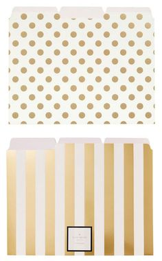 Gorgeous kate spade file folders http://rstyle.me/n/i5dqenyg6