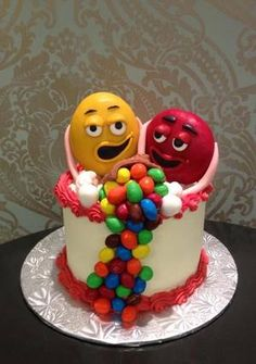 m&m cake by Frost Dessert Shoppe in Baden ON