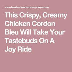 This Crispy, Creamy Chicken Cordon Bleu Will Take Your Tastebuds On A Joy Ride