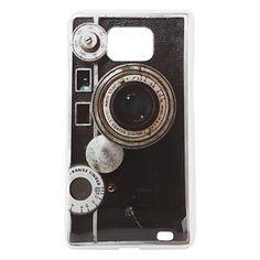 Carcasa Con Aspecto de Cámara Fotográfica de los 60 para el Samsung Galaxy S2 i9100