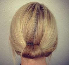 simple+updo+for+short+hair
