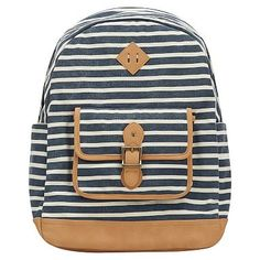 Northfield Navy Stripe Backpack