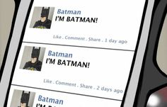 What Batman's twitter account would look like...