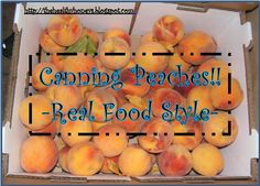 Step-by-step tutorial on canning peaches