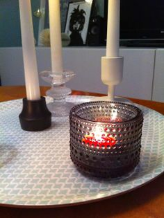 Iittala Kastehelmi, Iittala Festivo, Iittala Nappula & House Doctor Candle Holders, Candles, House, Festivus, Home, Porta Velas, Candy, Candle Sticks, Homes