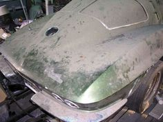 1963 Corvette Coupe Barn Find