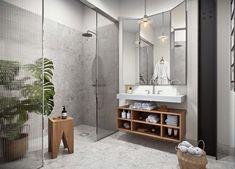 Gravity Home, images for a new project via Alexander White Cosy Bathroom, Bathroom Inspo, Bathroom Interior, Bathroom Inspiration, Washroom, Oscar Properties, Bathroom Flowers, Bedroom Minimalist, Modern Minimalist