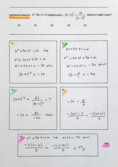 Matematikci_Bob 134 (@Matematikci_Bob)   Twitter tarafından gönderilen fotoğraflar ve videolar Math Quotes, Maths Solutions, Study Motivation, Algebra, Helpful Hints, Physics, Bob, Teaching, Education
