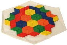 Bartl, Lernspielzeug, Hex Mex, Das Kombinationspuzzle, ab 6 Jahren, | 32