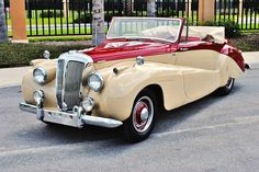 1952 Daimler DB 18 Drophed Coupe