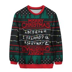 Stranger Sweaters - this is all I want for christmas!