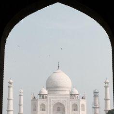 Priceless beauty of Taj Mahal,Agra, India - This travel photo captured with iPhone 6 Plus. #travelphotography #travelphoto #beautifularchitecture #tajmahal