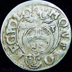 Circulated Uncertified Silver Ungraded World Coins World Coins, 17th Century, Poland, Silver, Ebay, Money
