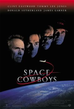Space Cowboys Directed by Clint Eastwood. With Clint Eastwood, Tommy Lee Jones, Donald Sutherland, James Garner. When a retired engineer is called upon to rescue a failing satellite, he insists that his equally old teammates accompany him into space. Donald Sutherland, Clint Eastwood, Science Fiction, Fiction Movies, Imdb Movies, Love Movie, Movie Tv, Dramas, Space Cowboys