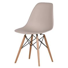 It wouldn't be out of the question to cross one's arms with this Contemporary Chair !