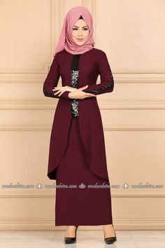 Combine, Dress Combines, Hijab Kombine Prices Page 7 Hijab Fashion, Diy Fashion, Fashion Outfits, Istanbul, Glamorous Evening Dresses, Girls Fashion Clothes, The Dress, Formal Wear, Couture