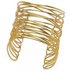 Ladies bronze Entrecroisé Infini gold bangles - Franchini Gold Bangles, Bangle Bracelets, Bronze, Lady, Beautiful, Jewelry, Women, Trendy Bracelets, Yellow