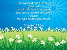 Good Morning Girls NEDERLAND: Spreuken 24