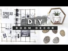 5 DIY Decor Ideas For Succulents. Ideas for terra cotta pots, how to drill ceramic, upcycle ideas for planters, make a mini cactus garden, white washed ombre...